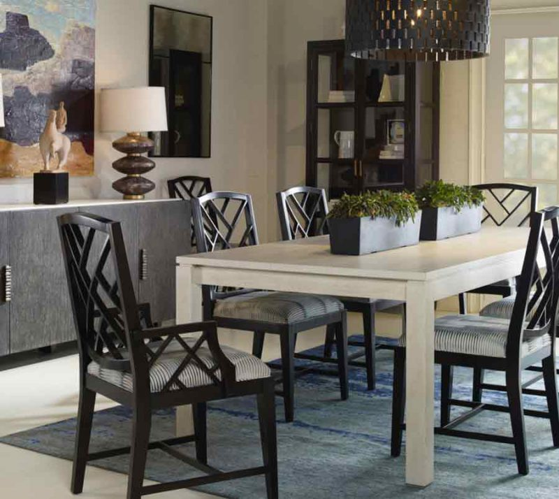 Sawyer Dining Table - Staged