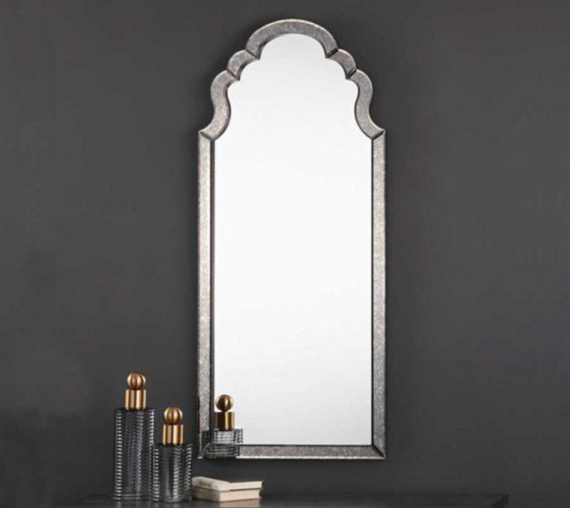 Lunel Arch Mirror - Staged