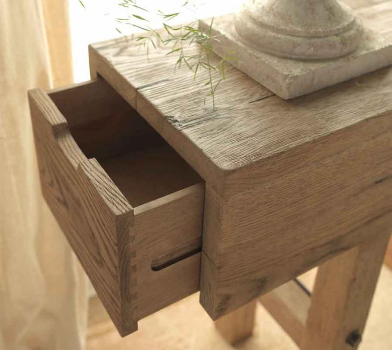 Makers Console Table - Drawer View