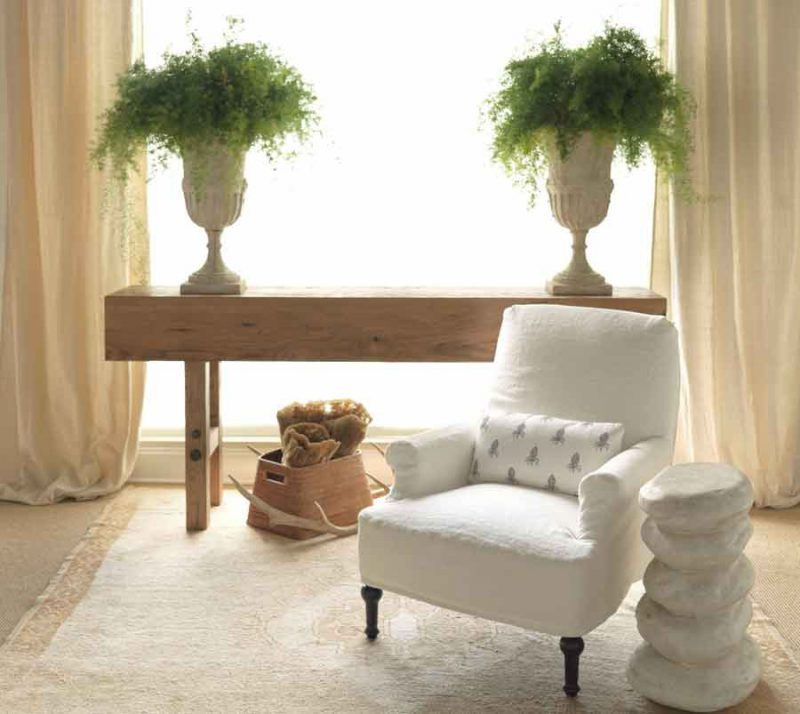 Makers Console Table - Staged View