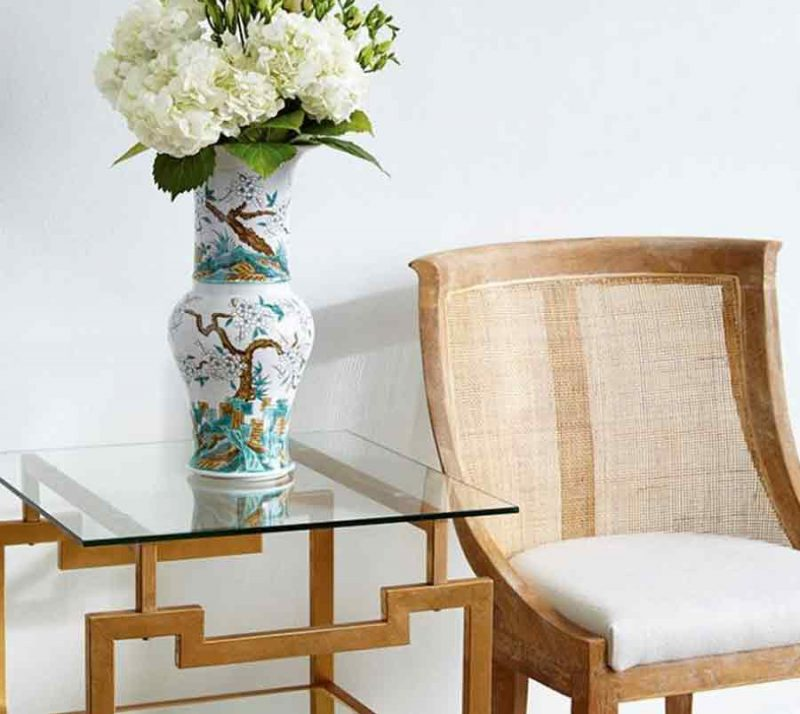 Anton Side Table - Staged