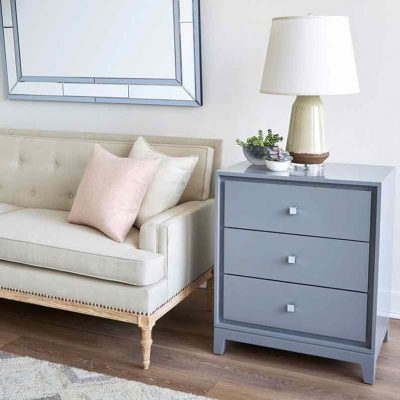 Bergamo 3-Drawer Side Table