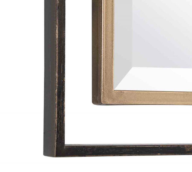 Carrizo Rectangle Mirror - Detail View