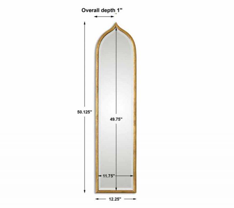 Fedala Arch Mirror - Dimensions