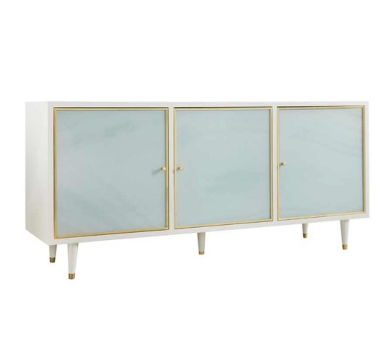 Seaglass Three Door Credenza
