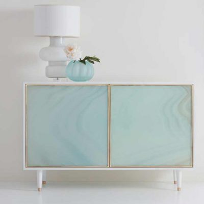 Seaglass Two Door Cabinet