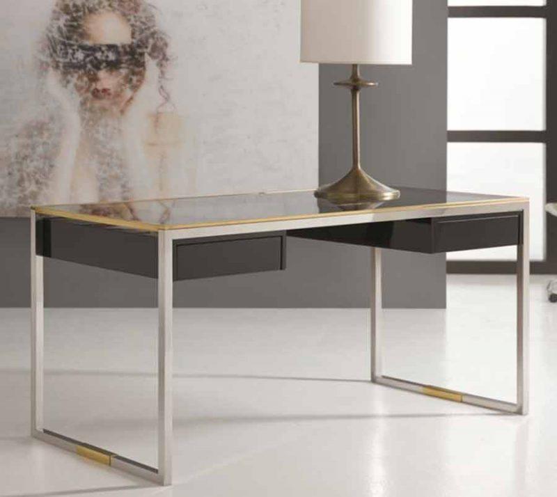Stainless & Brass Desk