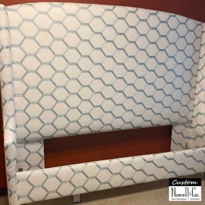 Custom Honeycomb Upholstered Bed