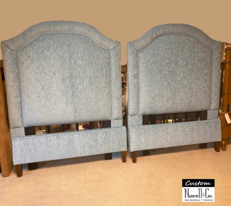 Custom Arch Upholstery Twin Bed