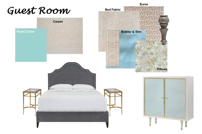 Design Schematic: Example of Guest Bedroom