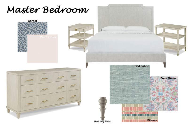 Design Schematic: Example of Master Bedroom