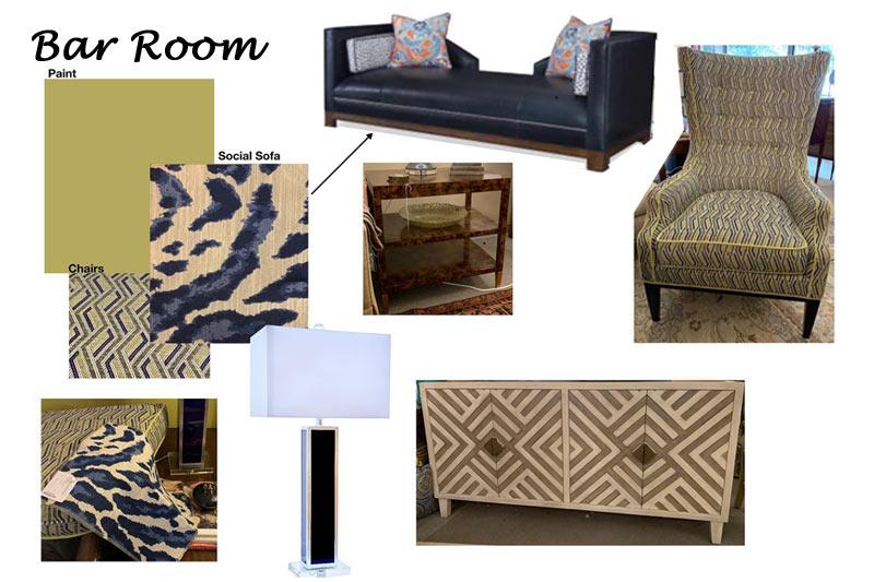Design Schematic: Example of Bar Room