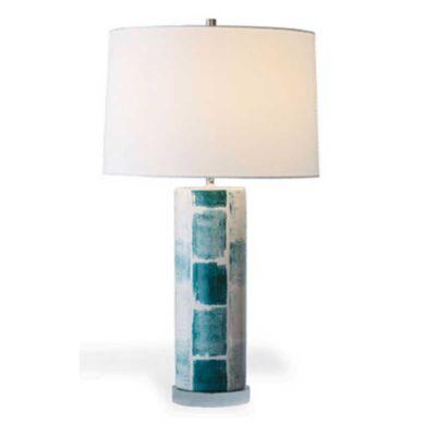 Celadon Tile Lamp