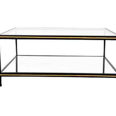 Black & Gold Coffee Table